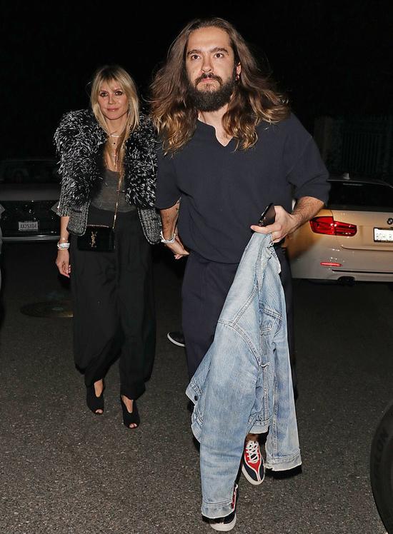 Vợ chồng siêu mẫu Heidi Klum.