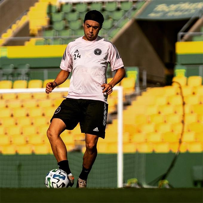 Lee Nguyễn vẫn tập luyện bình thường tại Inter Miami trong thời gian đàm phán với TP HCM. Ảnh: Instagram.