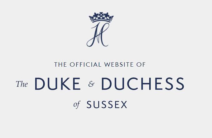 Vợ chồng Harry đã dành hàng nghìn bảng Anh để thành lập trạng web sussexroyal.com.