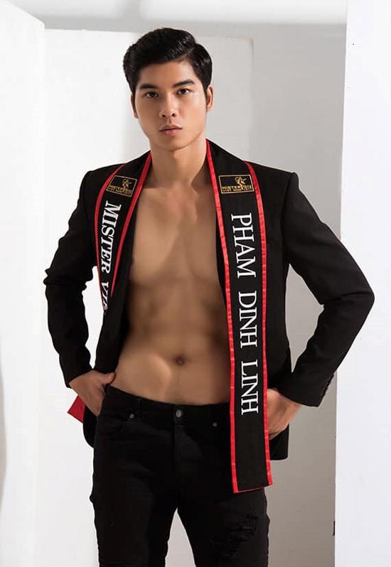 Phạm Đình Lĩnh - đại diện của Việt Nam năm nay tại Manhunt - vào Top 16.