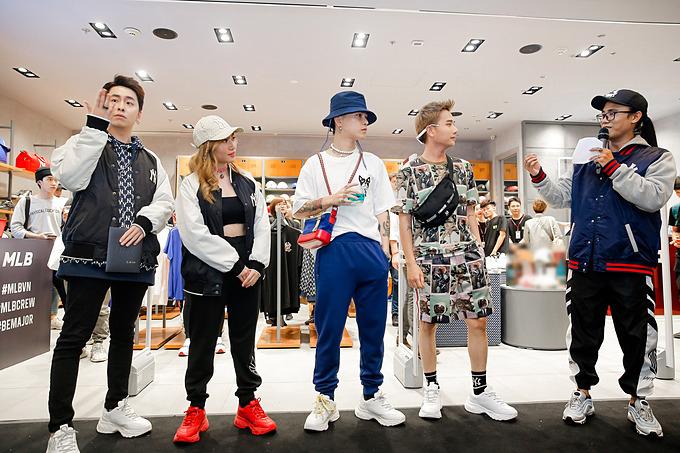 Đông đảo sao Việt và các fashionista có mặt tại sự kiện ra mắt cửa hàng MLB, do công ty Maison tổ chức.