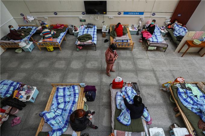 Cuộc sống tại bệnh viện dã chiến Vũ Hán
