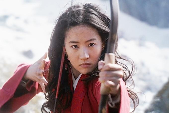 Lưu Diệc Phi trong vai Hoa Mộc Lan.