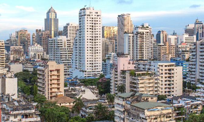 Thị trường bất động sản Bangkok ảm đạm vì Covid-19. Ảnh: Thaiproperty.