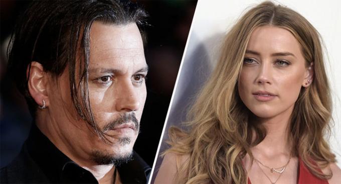 Johnny Depp và Amber Heard hẹn hò từ năm 2012, kết hôn năm 2015 và ly hôn vào giữa năm 2016.
