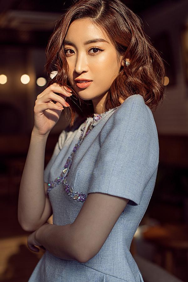 Hình ảnh đóng vai trò quan trọng trong việc xây dựng thương hiệu của Hoa hậu Đỗ Mỹ Linh. Người đẹp luôn tỏa sáng trước ống kính với những bức ảnh sắc nét, ấn tượng.