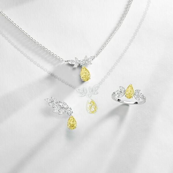 Bộ ba thiết kế tinh tế trong bộ sưu tậpHigh Jewelry Treasure.