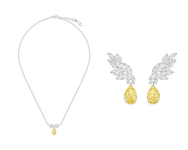 Biến đổi quy chuẩn thông thường, Piaget ra mắtbộ ba vật phẩm dây chuyền, nhẫn và hoa tailàm từ kim cương vàng xa xỉ bậc nhất.
