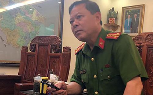 Cựu đại tá Nguyễn Chí Phương.