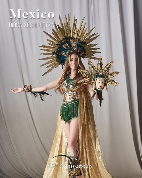 Hoa hậu Mexico tái hình hình ảnh nữ thần
