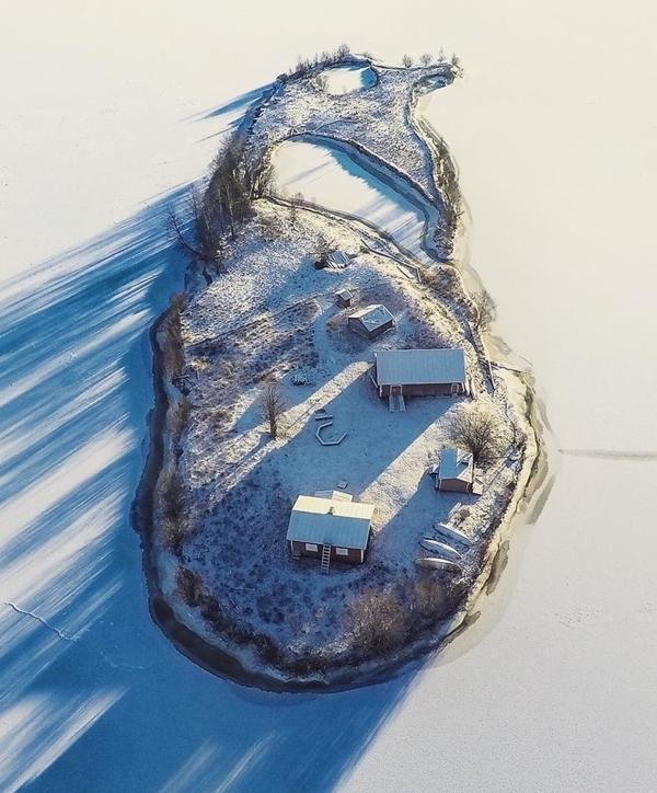 Mùa đôngtrên đảo Kotissari