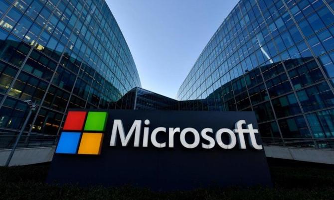 Trụ sở hãng công nghệ Microsoft tại hạt King, bang Washington, Mỹ. Ảnh: AFP.