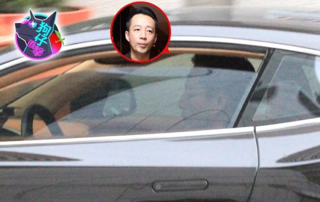 Chồng Từ Hy Viên bị bắt gặp dùng điện thoại khi lái xe.