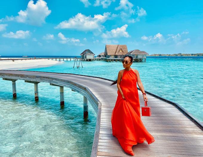 Resort sang trọng Đoan Trang chọn tổ chức sinh nhật chồng
