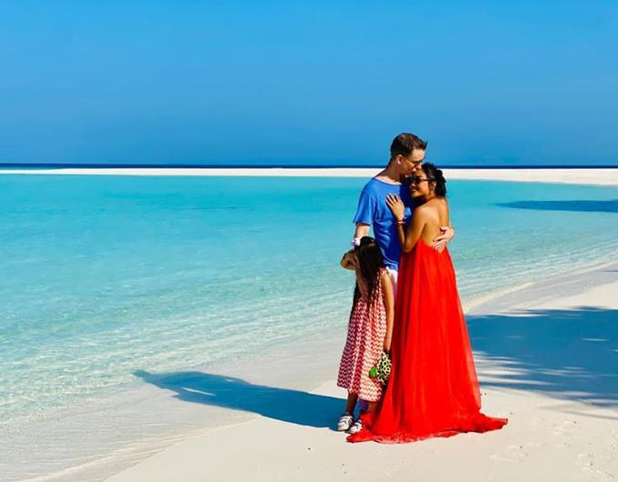 Resort sang trọng Đoan Trang chọn tổ chức sinh nhật chồng - 1