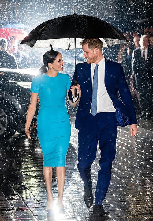 Harry và Meghan tớitới Mansion House của London để dự lễ trao giải quỹ Endeavour. Ảnh: Samir Hussen.