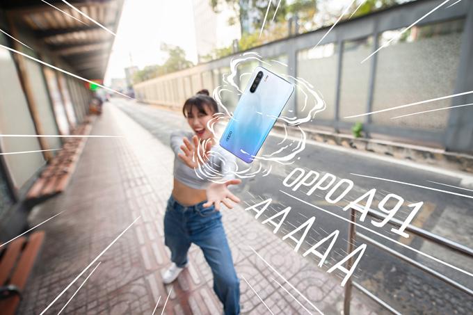 Dòng A của Oppo đã có mặt trên thị trường được 4 năm, luôn nằm trong top các smartphone bán chạy nhất mỗi khi ra mắt. Tiếp nối thành công 2019, năm nay, Oppo A91 được GenZ chào đón nồng nhiệt với hơn 5.000 máy bán ra chỉ trong 4 ngày. Sản phẩm được giới trẻ đón nhận nồng nhiệt nhờ chất lượng, mức giá hợp lý, cùng nhiều tính năng cao cấp độc quyền, thiết kế sành điệu.