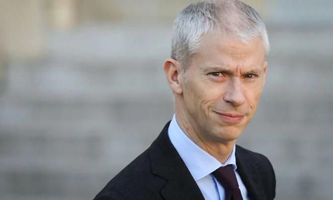Bộ trưởng Văn hóa Pháp Franck Riester. Ảnh: 24news.