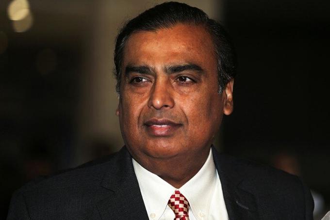 Tỷ phú Ấn Độ Mukesh Ambani. Ảnh: India Times.