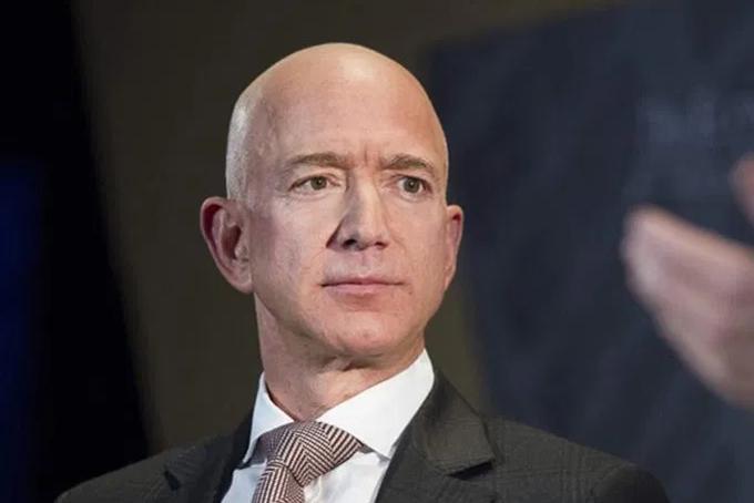 Jeff Bezos, người giàu nhất hành tinh. Ảnh: NYP.