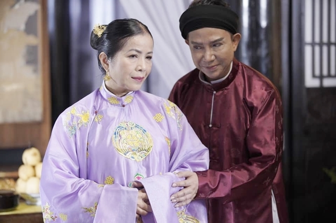 Long Nhật có nhiều cảnh diễn chung nhất với NSƯT Minh Trang.