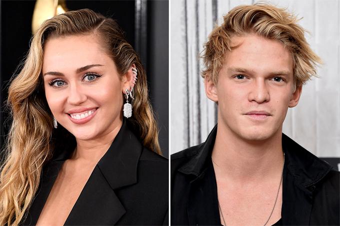 Miley và bạn trai, Cody Simpson, cùng bỏ sự kiện ở Australia.