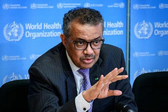 Tổng Giám đốc WHO, Tedros Adhanom Ghebreyesus. Ảnh: