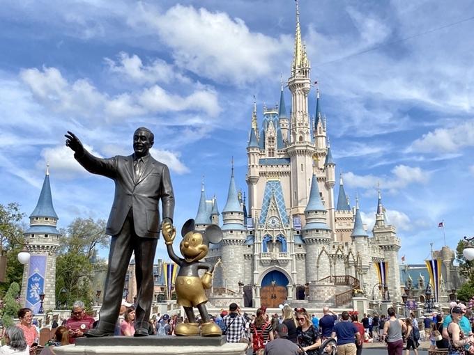 Walt Disney World ở Mỹ.