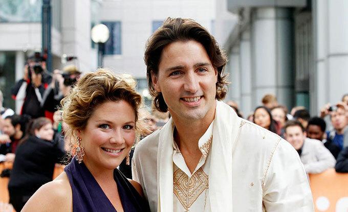 Vợ chồng Thủ tướng Canada. Ảnh: Jemal Countess.