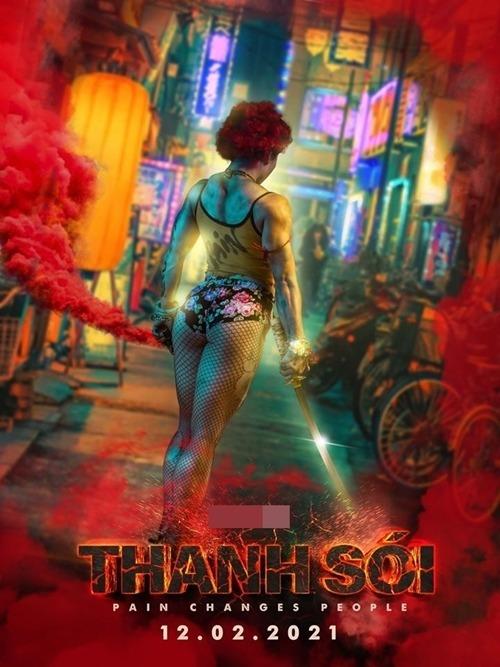 Poster đầu tiên của phim Thanh Sói.