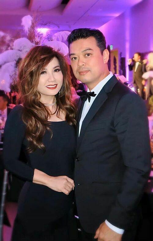 Trizzie Phương Trinh và bạn trai Tommy Nguyen.