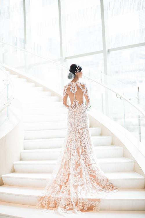 Ảnh cưới hiếm của 2 chị gái hot girl Tiên Nguyễn - 4