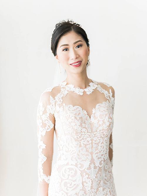 Ảnh cưới hiếm của 2 chị gái hot girl Tiên Nguyễn - 6