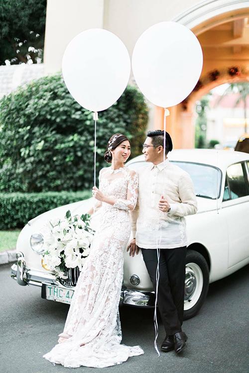 Ảnh cưới hiếm của 2 chị gái hot girl Tiên Nguyễn - 7