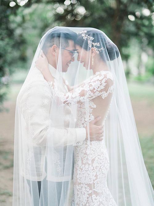 Ảnh cưới hiếm của 2 chị gái hot girl Tiên Nguyễn - 8