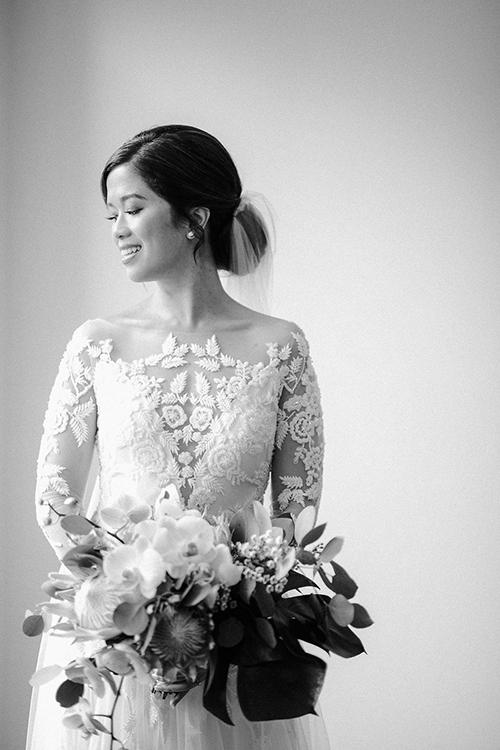 Ảnh cưới hiếm của 2 chị gái hot girl Tiên Nguyễn - 10