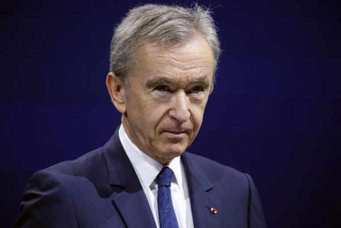 Tỷ phú Pháp Bernard Arnault, Chủ tịch LVMH. Ảnh: Bloomberg.