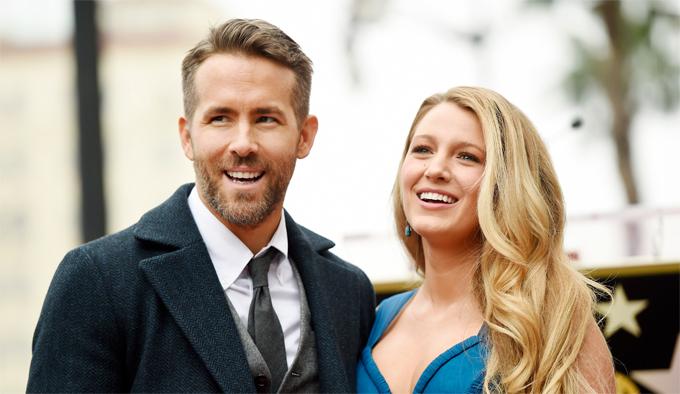 Ryan Reynolds và Blake Lively. Ảnh: AP.