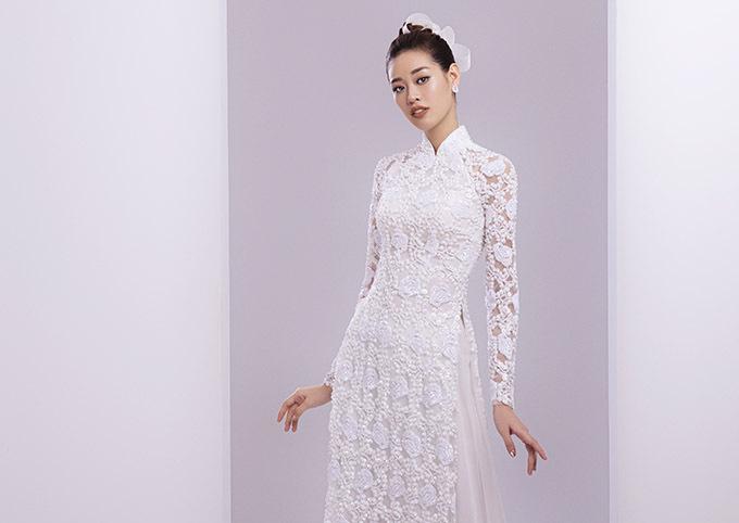 Khánh Vân cho biết cô rất thích mặc áo dài tham dự các sự kiện quan trọng và ở những dịp lễ Tết truyền thống.
