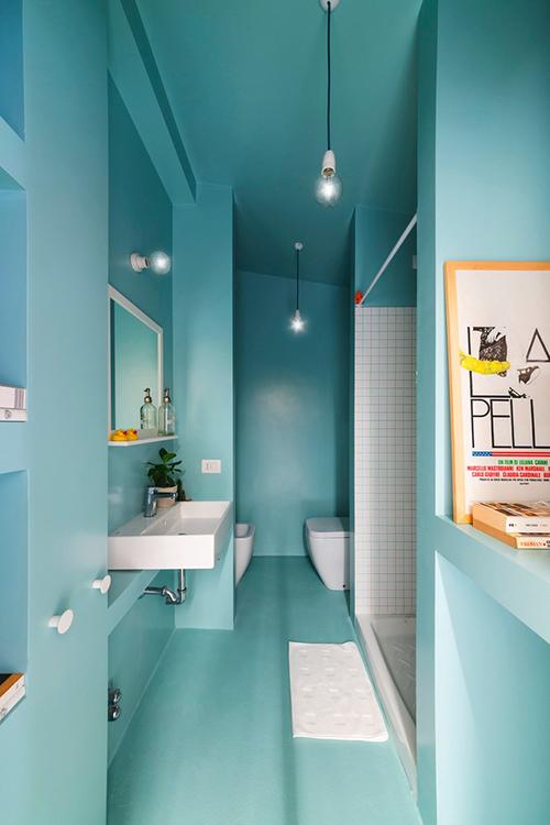 Nhà diện tích nhỏ nên mọi không gian đều ưu tiên sự tối giản để tạo cảm giác rộng rãi.