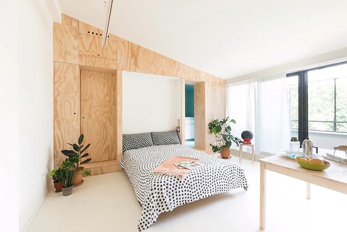 Do đó, căn hộ có diện mạo thay đổi linh hoạt buổi sáng, tối theo nhu cầu sử dụng.
