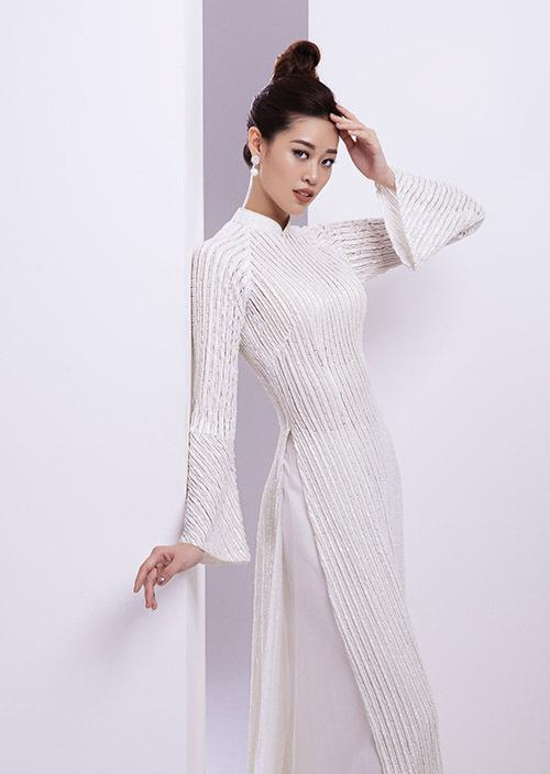 Bộ ảnh được thực hiện trước khi Khánh Vân lên ngôi Hoa hậu Hoàn vũ Việt Nam. Đây là lần đầu cô chia sẻ.