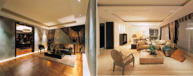 Nội thất sang trọng trong căn hộ của Park Seo Joon.