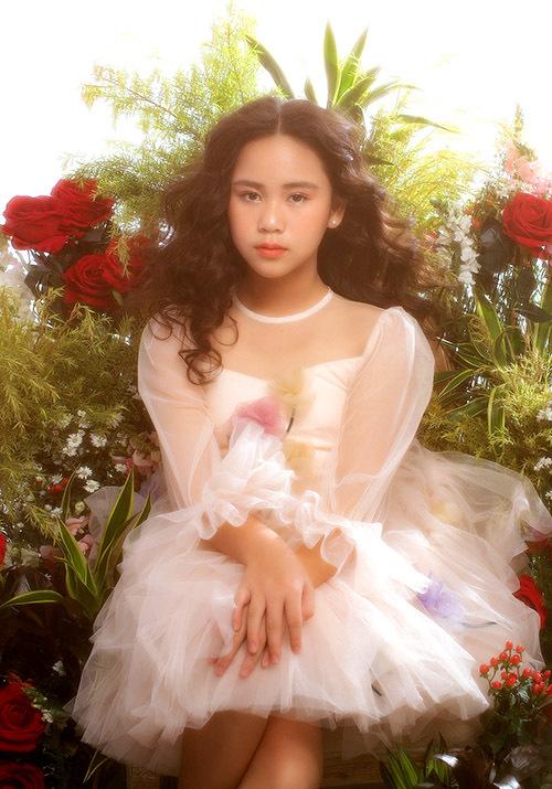 Hoa hậu nhí ước mơ lớn lên trở thành nghệ sĩ đa năng, có sức ảnh hưởng trong xã hội.