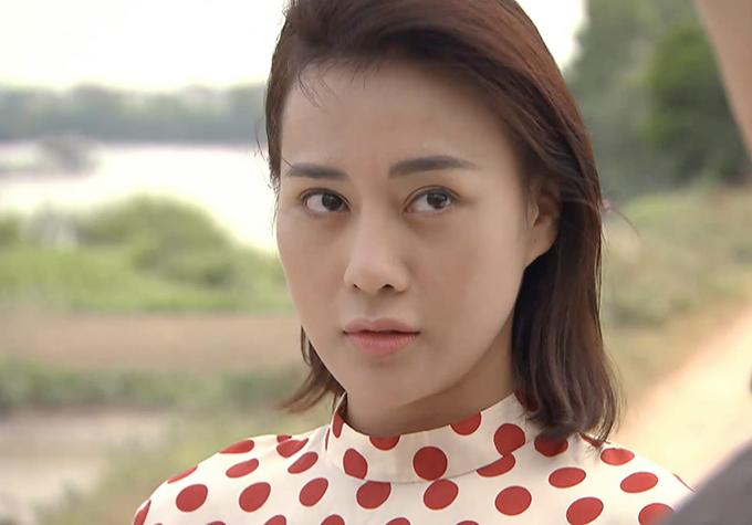 Phương Oanh trong tập cuối Cô gái nhà người ta.