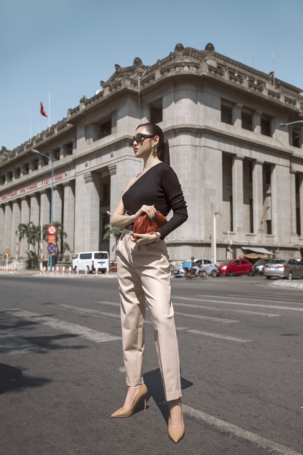 Á hậu Trúc Ny biến hóa với street style - 8