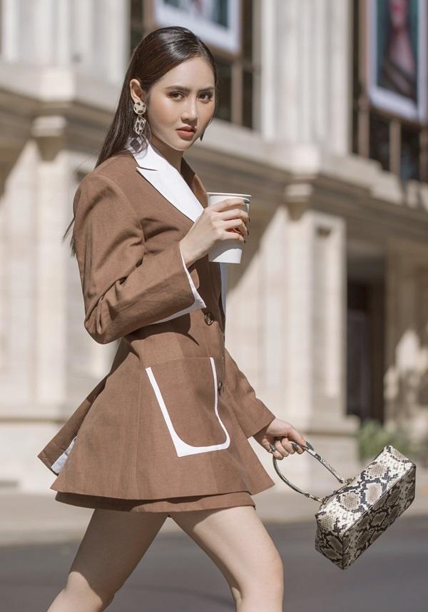 Á hậu Trúc Ny biến hóa với street style - 5