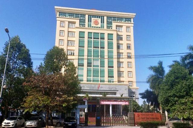 Cục thuế Thanh Hoá bị cảnh sát khám xét chiều 19/3.