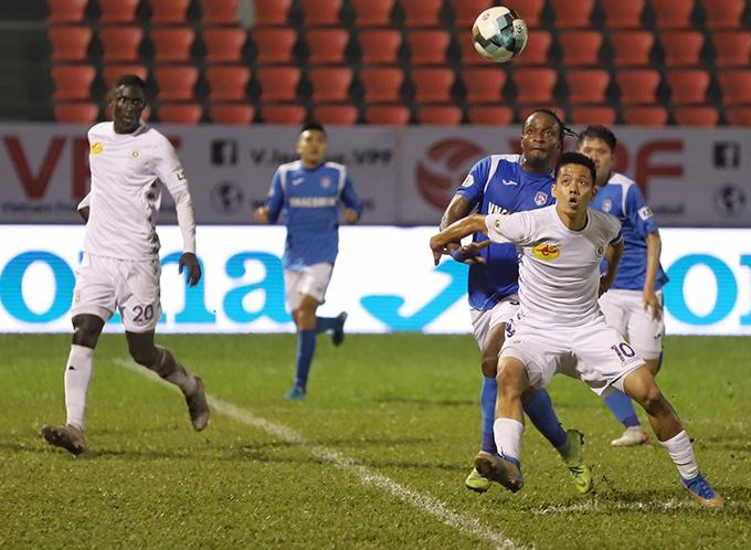 CLB Hà Nọi cho cầu thủ nghỉ ít ngày tránh dịch sau trận đấu với Than Quảng Ninh. Ảnh: HN FC.
