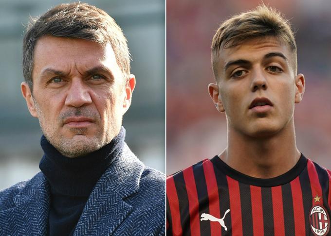 Maldini và con trai đều gắn bó với CLBAC Milan.